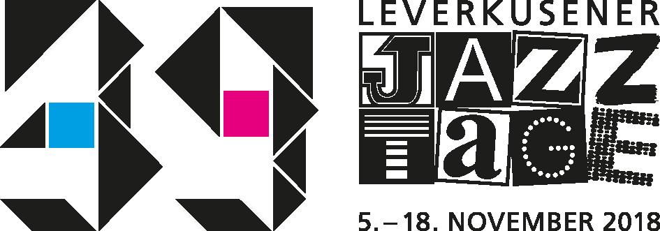 Logo Leverkusener Jazztage 2018 RGB quer